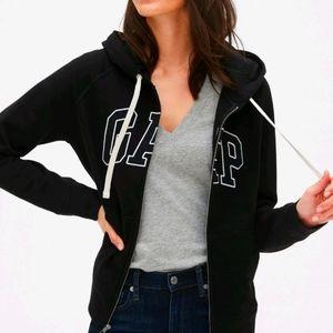 Gap black logo hoodie size small